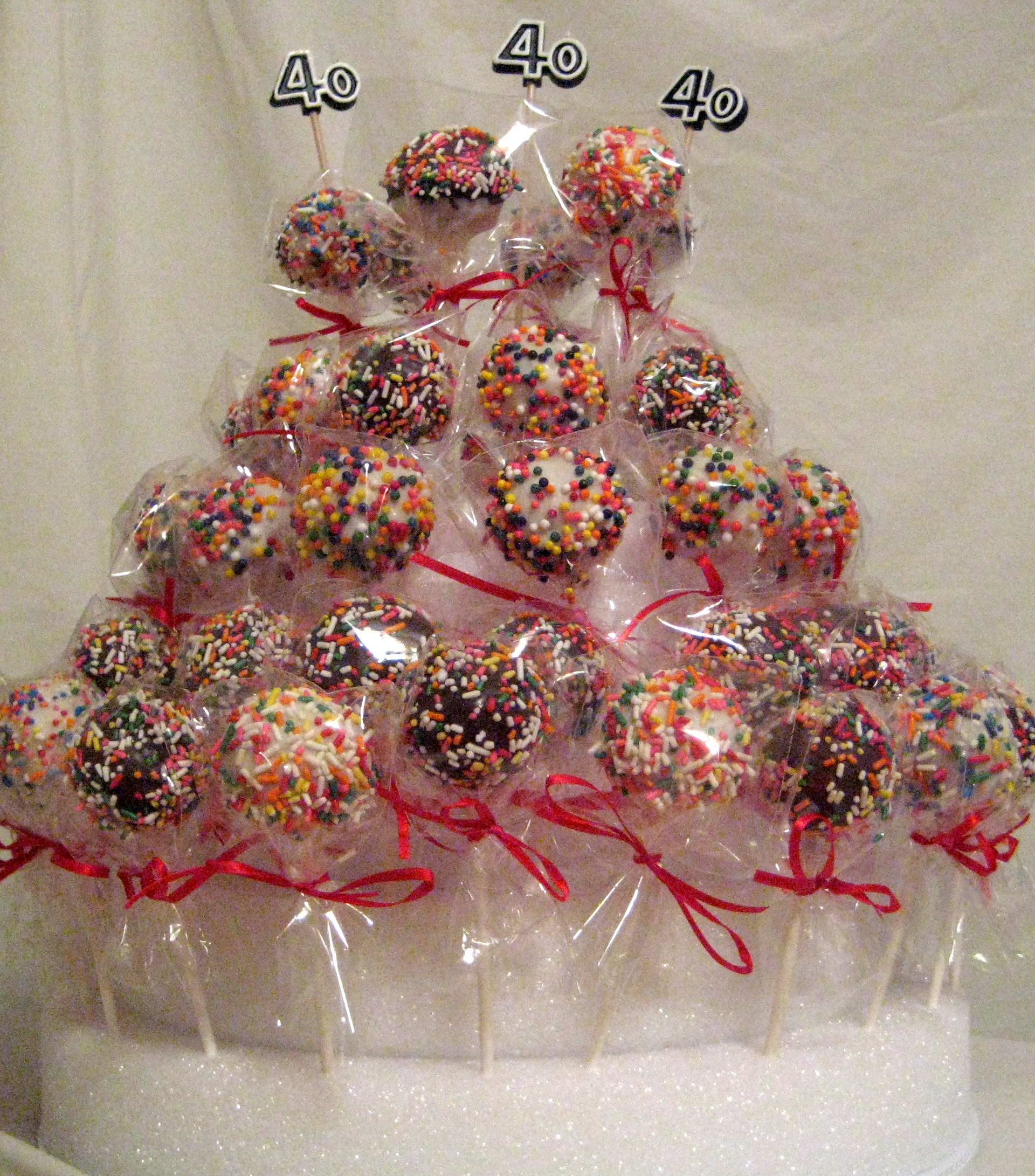 Cake Pop Bouquet 40th Birthday Best Eats And Treats